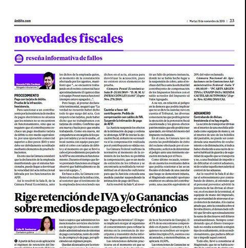 Novedades Fiscales @novedadesfisca1: La página Novedades Fiscales del día de hoy… https://t.co/fmbJxjluuJ
