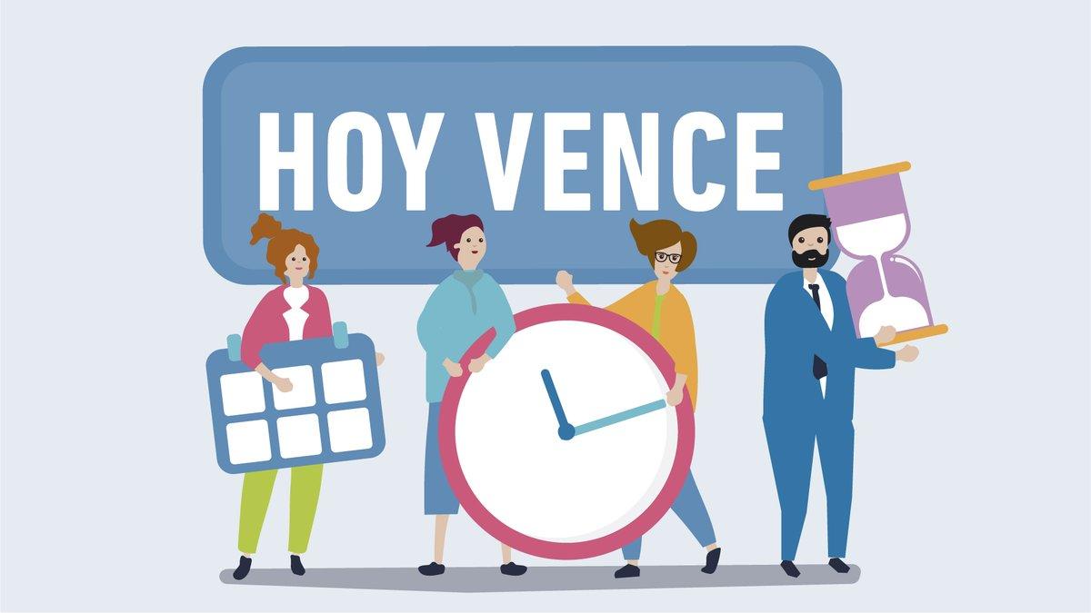 Afip Comunica @AFIPComunica: #LibroIVADigital > #HOY vence para las CUIT terminadas en 0 y 1. https://t.co/jXdpbaIBrO