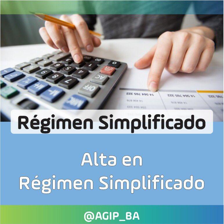 AGIP @AGIP_BA: Toda la información sobre el alta de Régimen Simplificado de Ingresos Brutos en: https://t.co/5owO5lop4s https://t.co/af26VTxXzn