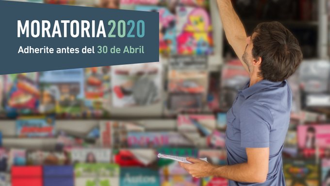 Afip Comunica @AFIPComunica: Adherite a la #Moratoria2020 para regularizar tu deuda. Tenés hasta 120 cuotas con una tasa del 3% mensual fija por un año. Tenés tiempo hasta el hasta el 30 de abril. Enterate más en > https://t.co/Kn2PXaExc9 https://t.co/Jgd3Zznged