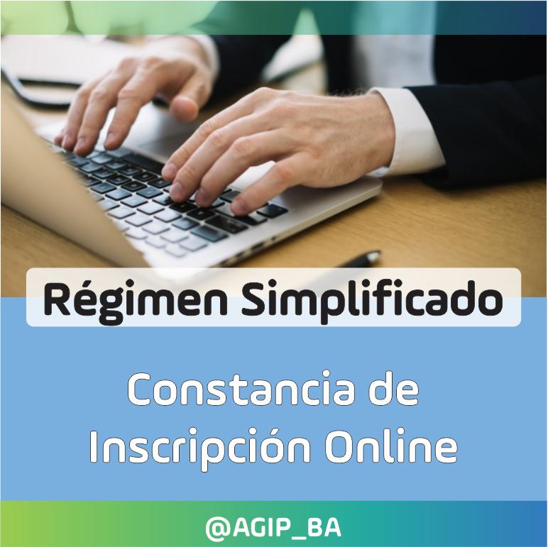 AGIP @AGIP_BA: Si necesitás la Constancia de Inscripción en el Régimen Simplificado de Ingresos Brutos, la podés obtener online desde aquí:  https://t.co/Ne6Qbl4a39 https://t.co/nO9YnCapAd