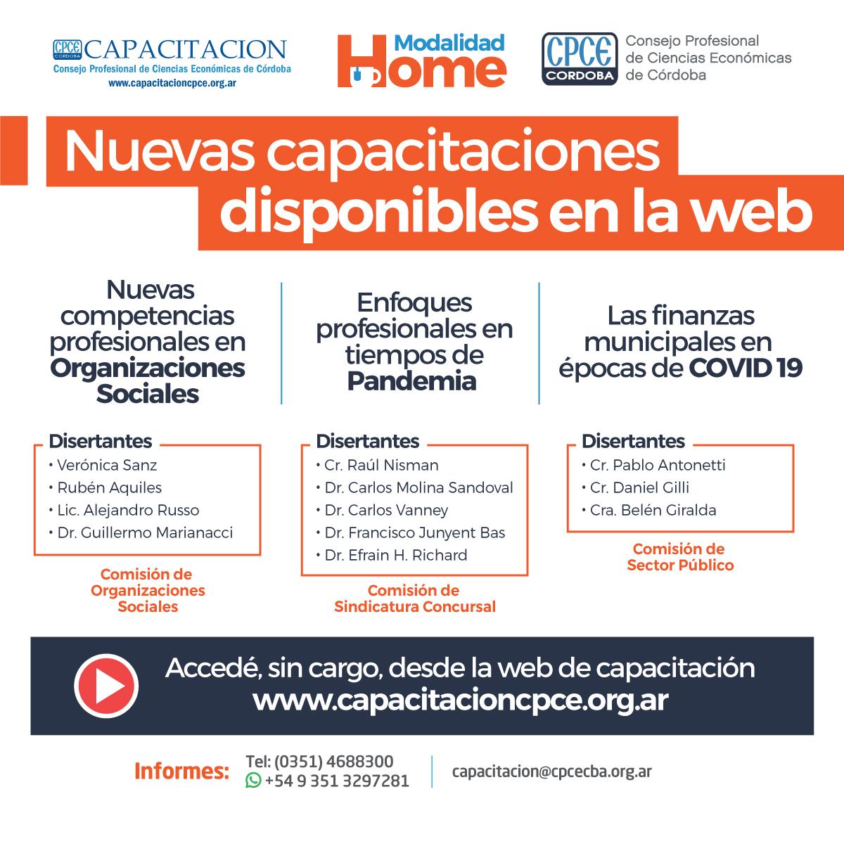 CPCE Córdoba @CPCECordoba: Éstas son las novedades en nuestra web ➡️ https://t.co/SShjf0Afdx https://t.co/n9g2H2EfjL