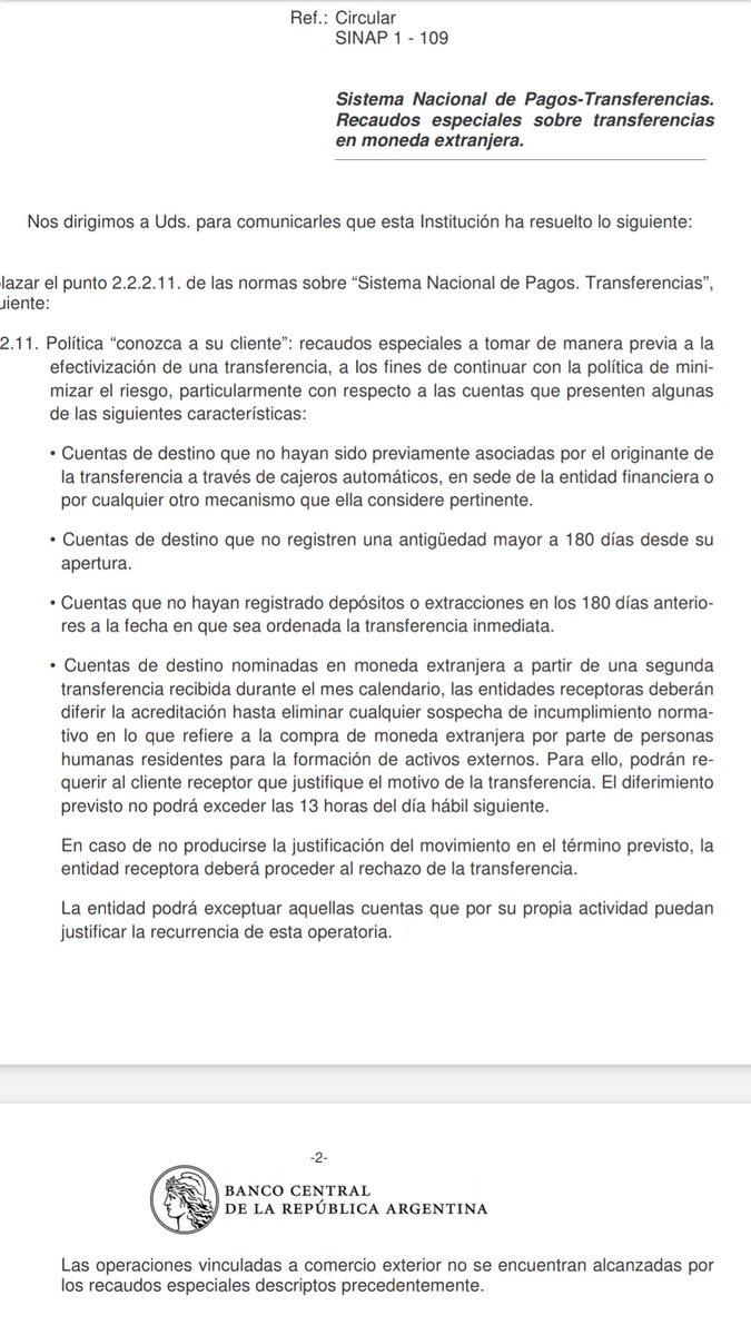 Amilcar Collante @AmilcarCollante: Transferencias en dólares https://t.co/F7Kl9xy876