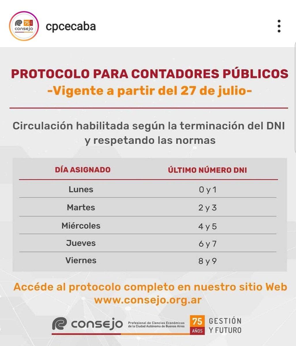 Marcelo D. Rodriguez @mrconsultores3: CONTADORES PÚBLICOS – CABA  Protocolo de Circulación https://t.co/8Zgy7W2ByW