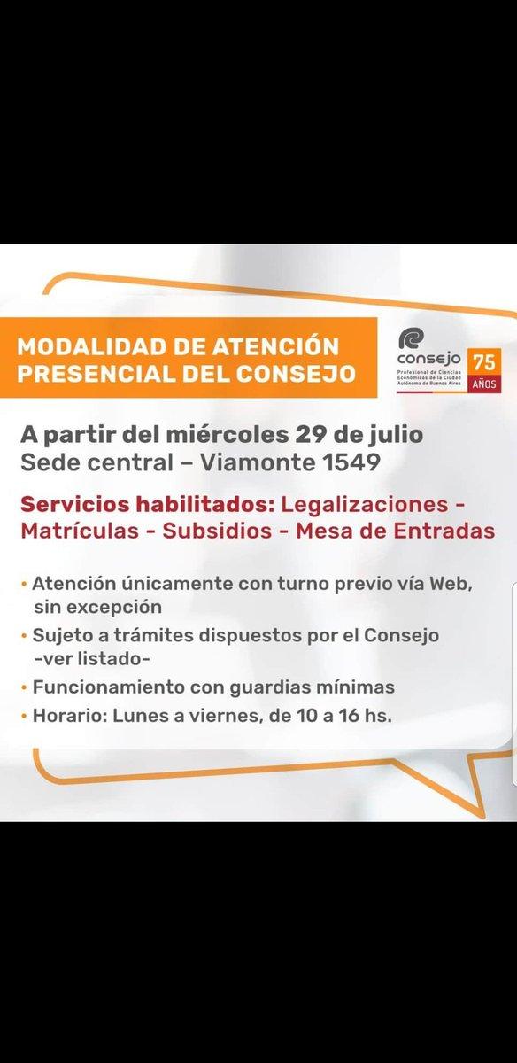 Marcelo D. Rodriguez @mrconsultores3: CPCECABA  Modalidad de Atención desde el 29/7/2020 https://t.co/wFRSza3Vxs