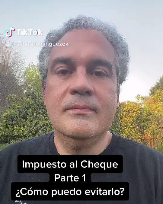 Sebastián M. Domínguez @sebasdominguez: Impuesto al cheque: ¿Cómo puedo evitarlo? #impuestosalcheque #afip #impuestos #ahorro #pesos #cheques https://t.co/ympp2pLdCK