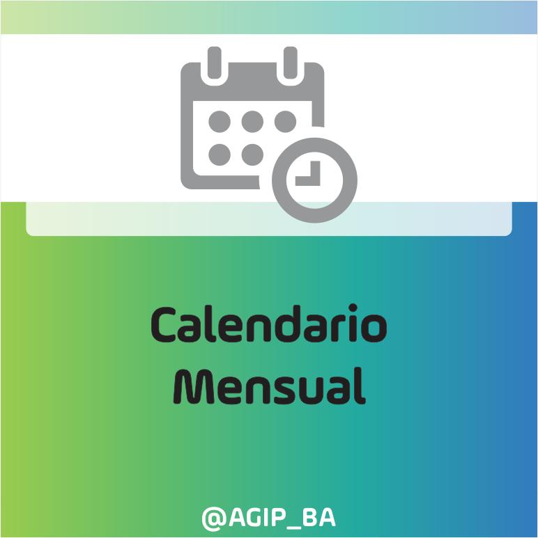 """AGIP @AGIP_BA: Puede consultar el calendario mensual actualizado con todos los vencimientos, por impuesto, seleccionando la opción """"Vencimientos del mes"""" desde la página principal: https://t.co/6F4AIKnItV https://t.co/9yONz9Ky63"""