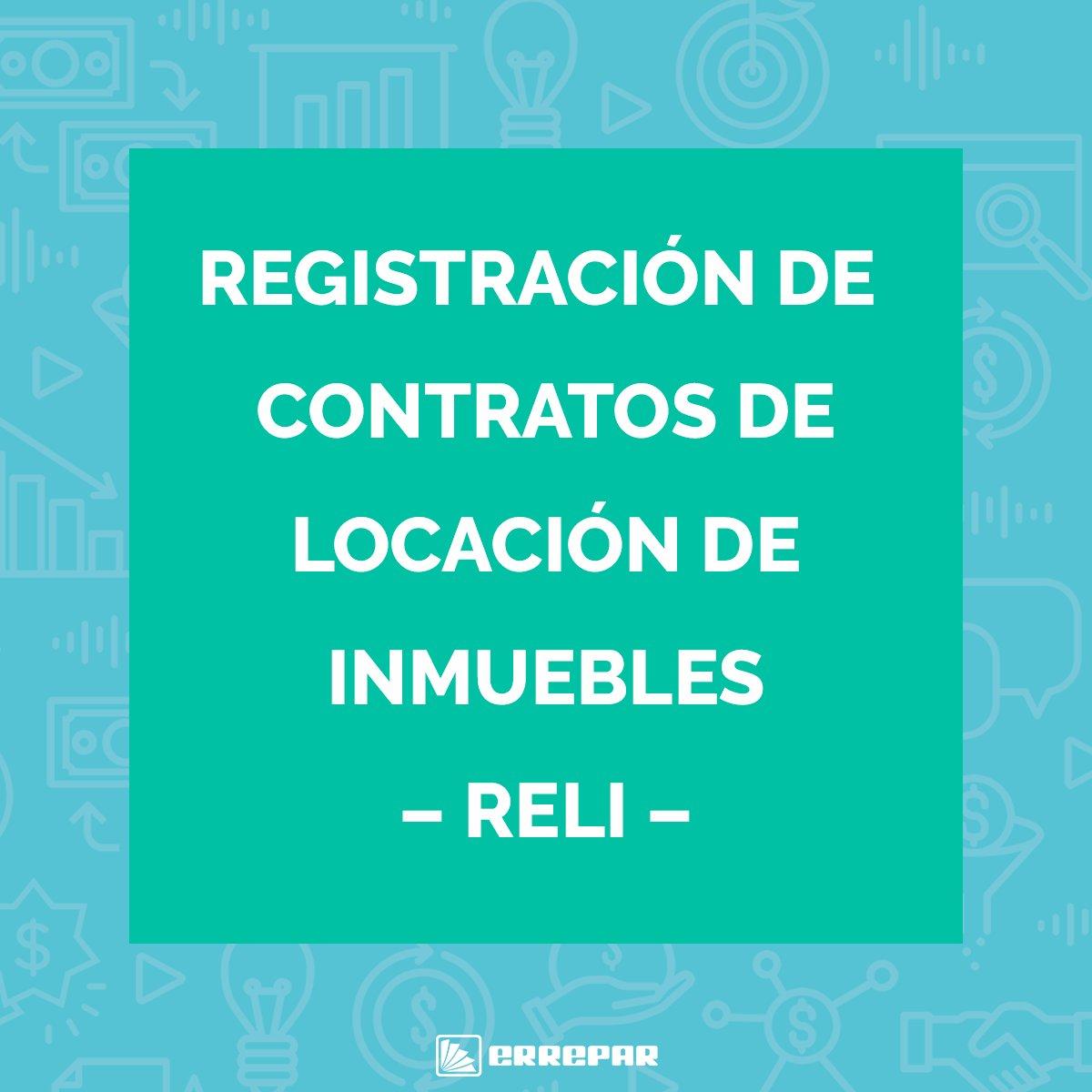 Editorial Errepar @errepar: Puntos clave de la registración de los contratos de locación de inmuebles a cumplir a partir de marzo de 2021. https://t.co/06OMoxNfjX