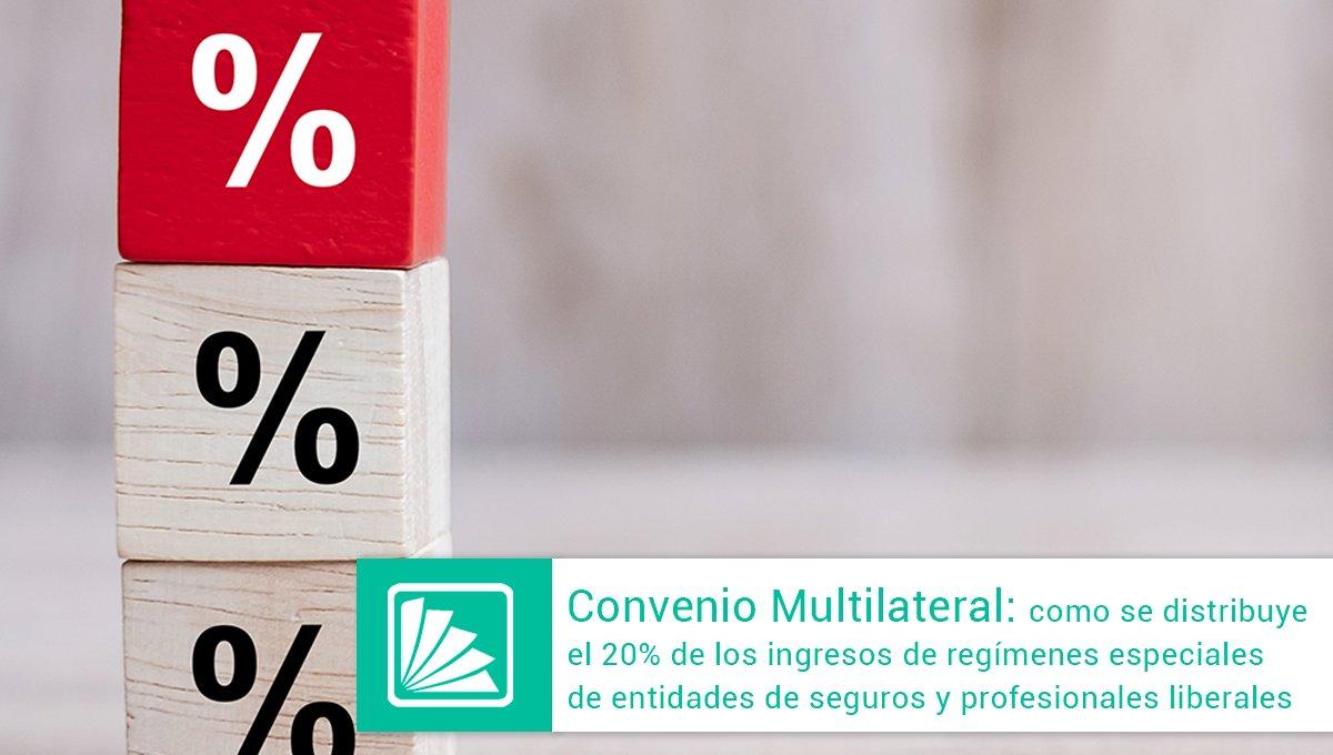 Editorial Errepar @errepar: La Comisión Arbitral de Convenio Multilateral interpreta la forma en que se deberán asignar el 20% de los ingresos en los casos de aplicación de regímenes especiales para entidades de seguros y Profesiones Liberales. Accedé a un detallado análisis -> https://t.co/nOR5dzycMR https://t.co/KlTyhra1W8