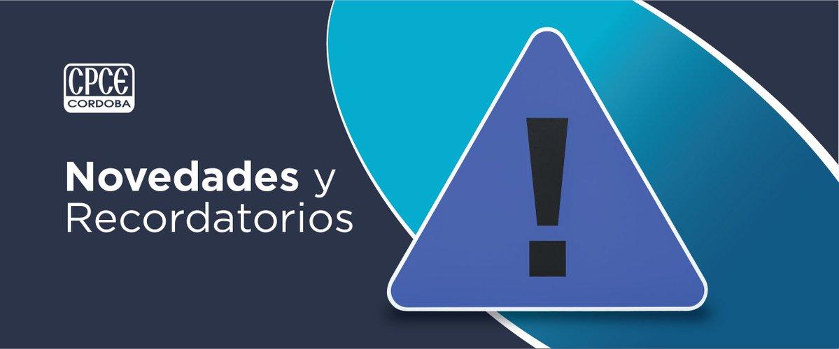 CPCE Córdoba @CPCECordoba: Hacé click para conocer todas las novedades sobre ajustes, resoluciones, normas y más ➡️ https://t.co/oI6mPaksBz https://t.co/Ez1ACGhjkL