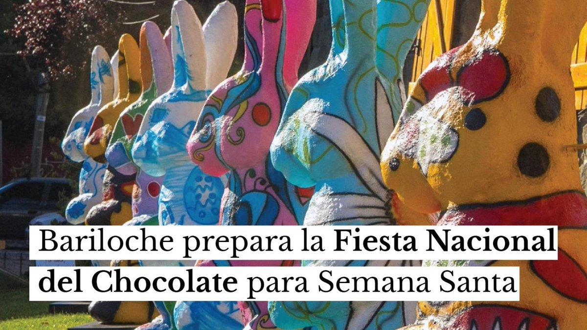El Cronista @cronistacom: ???? Bariloche celebra la Fiesta Nacional del Chocolate durante el fin de semana largo de Semana Santa,   El evento, suspendido en 2020 por la cuarentena, se llevara a cabo entre el 29 de marzo al 4 de abril.  ¿Alguna vez fuiste?  Leé la nota completa en https://t.co/97vwMbuecR https://t.co/oVTCFvLZo7