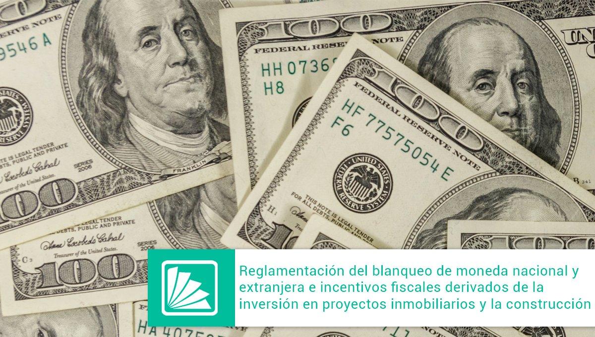 Editorial Errepar @errepar: Compartimos un análisis del Dr. Gómez sobre las normas que establecen los requisitos, plazos y condiciones para quienes decidan invertir en proyectos inmobiliarios, como así también para aquellos que usufructúen el blanqueo de fondos. Accedé a la doctrina: https://t.co/nGVGRxzQ0e https://t.co/LsjrK4NOq1