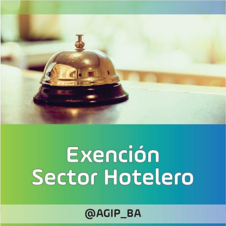 AGIP @AGIP_BA: Exención para Sector Hotelero: La medida alcanza las cuotas de abril a septiembre 2021, para Inmobiliario/ABL. Más información:  https://t.co/c12P6NZuDu https://t.co/jr98Xn4xmV