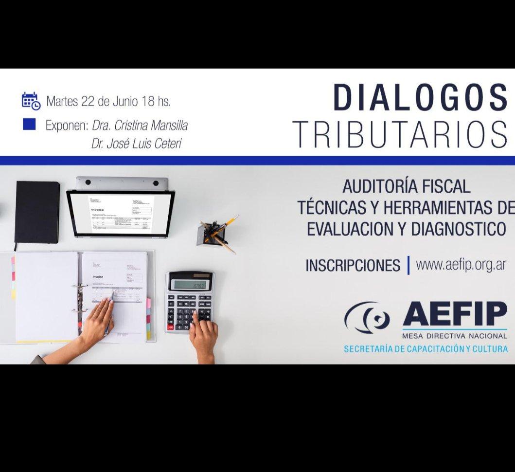 José Luis Ceteri @JLCETERI: Técnicas y Herramientas de Control Fiscal. Martes 22/6 https://t.co/DCXqmLxluG