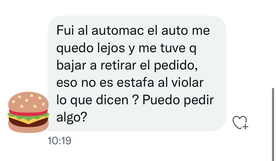 Derecho en Zapatillas @dzapatillas: Depende si la distancia es por la (im)pericia del conductor, a lo sumo puede pedir un sobrecito extra de ketchup https://t.co/vpSKM4Sp5D