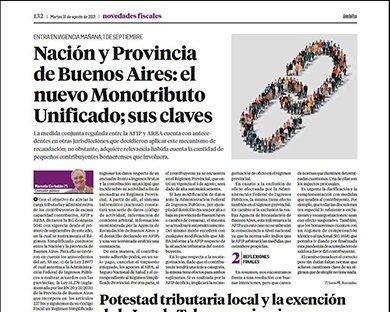 Novedades Fiscales @novedadesfisca1: Por su parte,el Dr. Marcelo Corbalán, aborda en detalle las claves del nuevo Monotributo Unificado, regulado entre la AFIP y ARBA https://t.co/NjOcWrGVhe