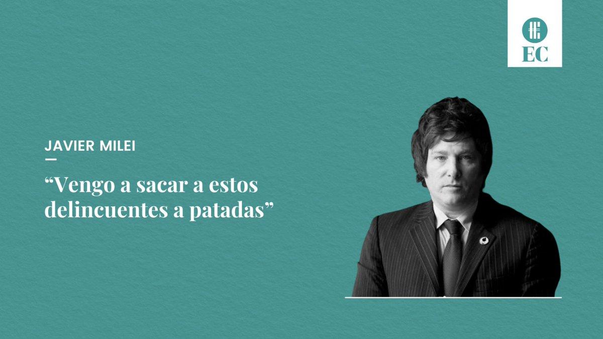 """El Cronista @cronistacom: ???? El economista y precandidato a diputado por la Ciudad de Buenos Aires habló de sus motivos por los cuáles se mete de lleno en la arena política.  ???? """"Soy un outsider, vengo al sistema a romperlo, a terminar con el statu quo"""", indicó @JMilei.  ¿Qué pensás de esto? https://t.co/AsyOwGgseG"""
