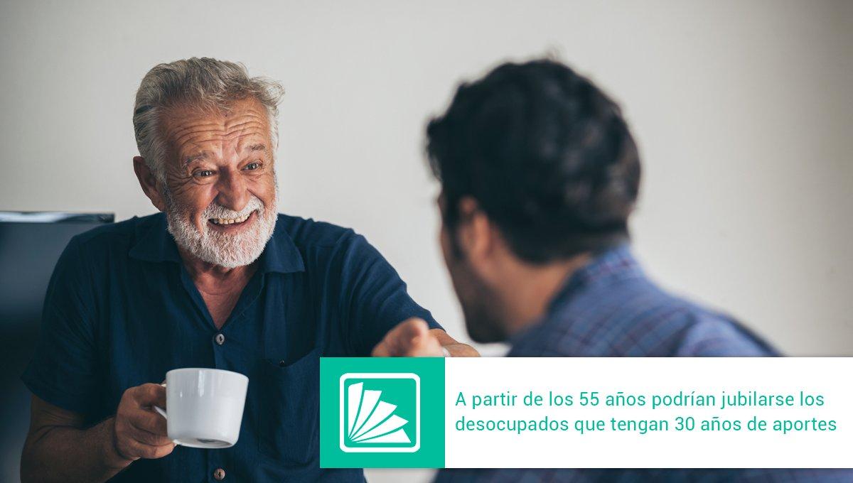 Editorial Errepar @errepar: El Gobierno analiza un borrador que busca que los trabajadores desocupados –mujeres entre 55 y 59 años y varones entre 60 y 64 años, con 30 años de aportes ingresados en la Seguridad Social- puedan jubilarse con el 50 o 80% del haber que les correspondería https://t.co/urKo4lE6fz https://t.co/18sPzzTXd4