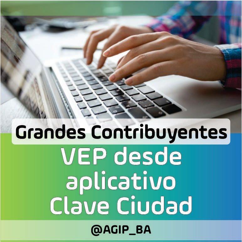AGIP @AGIP_BA: Grandes Contribuyentes: Podes pagar tus posiciones por VEP con Clave Ciudad: https://t.co/6Srr1a5ZW1 https://t.co/LI7bYKwDEq