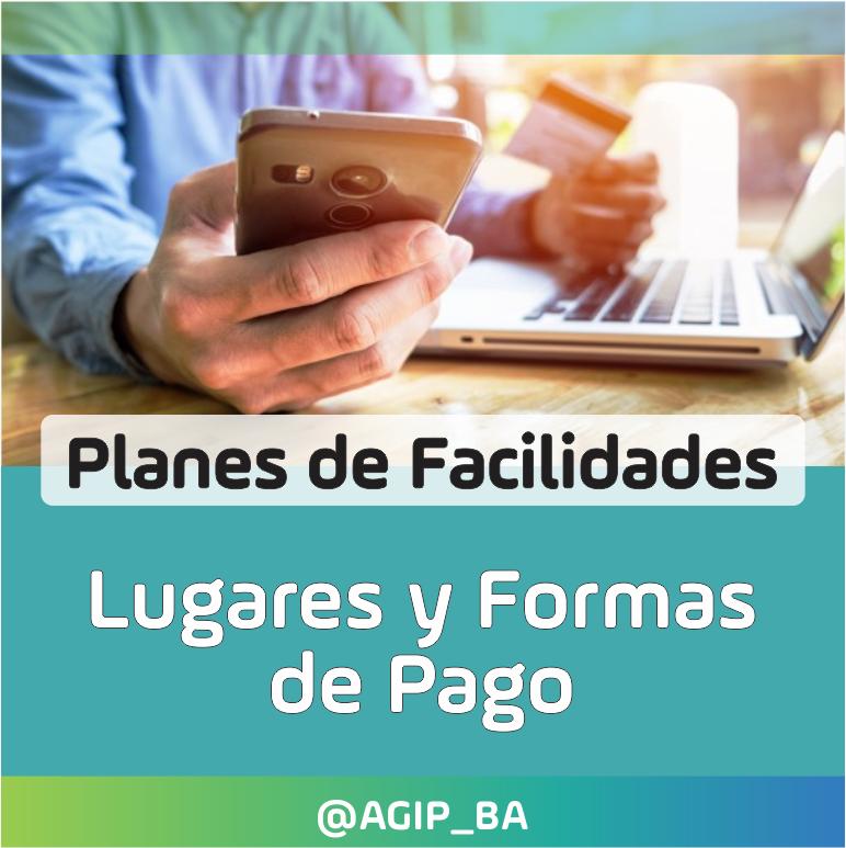 AGIP @AGIP_BA: Conocé los lugares y formas de pago de Planes de Facilidades, aquí: https://t.co/8O6F3QHdnD https://t.co/xuRwchSNHL