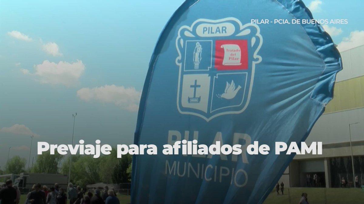 Télam @AgenciaTelam: El Gobierno lanzó el programa Previaje para jubilados del PAMI con reintegros del 70 por ciento https://t.co/Yek9cCxdxK